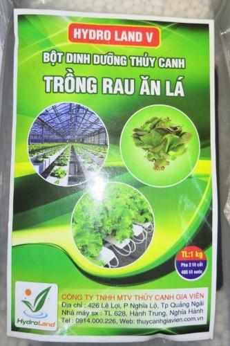 Bột dinh dưỡng thủy canh trồng rau ăn lá